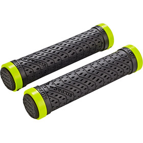 Sixpack K-Trix Lock-On Grips, black/neon/yellow matte